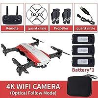 OKAYOU 3電池が付いている2.4GHz WiFi FPVの無人機4KのカメラRCの無人機のリアルタイム伝達航空機のおもちゃ
