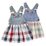 【アウトレット】 Bobson ジャンパースカート(80~130cm) キムラタンの子供服 ピンク 130 ( 77418x77918-151a )