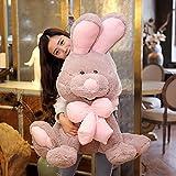 うさぎ ぬいぐるみ 兎 アメリカCostCo ウサギ 可愛いうさぎ 記念日 お誕生日 プレゼント 高校生 彼女 ギフト (100cm)