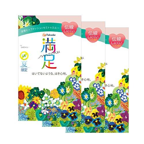 (フクスケ)FUKUSKE【満足】 3足組 142-1601 日本製 パンティストッキング 「夏に快適な仕様