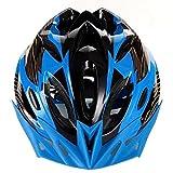 【MHR 】自転車ヘルメットサイクリング ヘルメット スポーツ ヘルメット ジュニアヘルメット マウンテンバイク クロスバイク 男女兼用 通気 安全 スタイリッシュ(青黒)