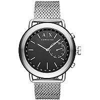 ARMANI EXCHANGE Men's AXT1020 Year-Round Smart Digital Silver Band Watch