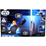 Uncle Milton Star Wars Science 25 Inch Long Remote Controlled Jedi Knight LIGHTSABER Room Light Kit with 8 Color Effects