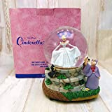 シンデレラ Cinderella フェアリーゴッドマザー スノーグローブ スノードーム オルゴール フィギュアディズニー TDL 置物