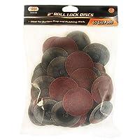IIT 82038 2 Roll Lock 60 Grit Sanding Discs(50 PC) [並行輸入品]