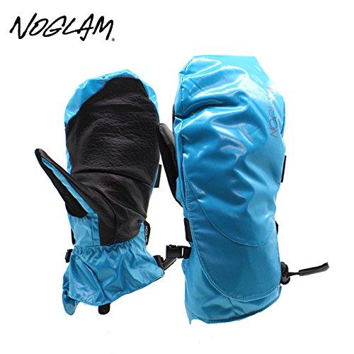 (ノーグラム)NOGLAM 2015年モデルnog-118 グローブ THE MOUNTAIN IICUT MITTEN/BLUE SHINY 日本正規品 ミトン M