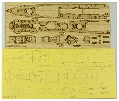 アートウォックスモデル 1/700 イギリス 軽巡洋艦 オーロラ 1945用 木製甲板 マスキングシート FL社1127用 プラモデル用パーツ AM2012Aの詳細を見る