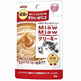 ミャウミャウ キャットフード クリーミー ずわいがに風味 40g×12個 (まとめ買い)