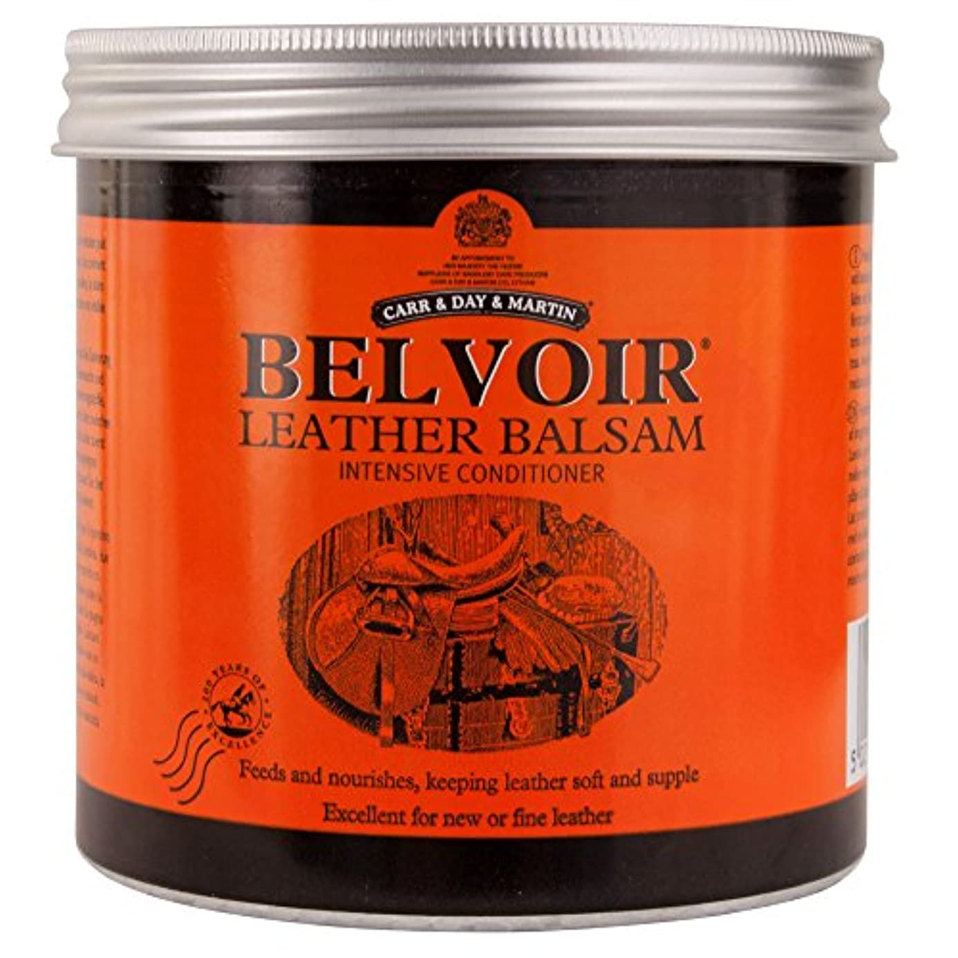 同僚しゃがむピボットCarr And Day And Martin Belvoir Leather Balsam Intensive Conditioner - Orange,