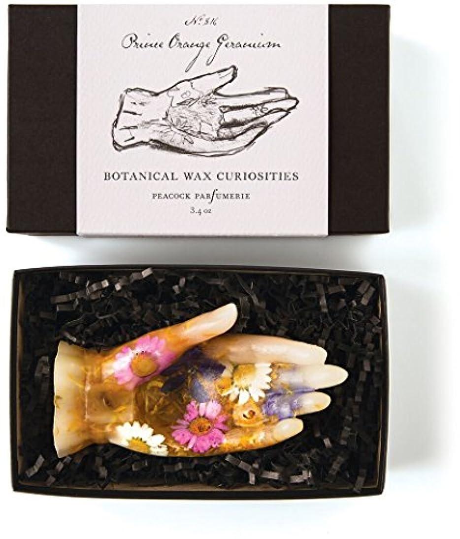 日苦難取るロージーリングス ボタニスト ボタニカルワックスキュリオシティ プリンスオレンジゼラニウム ROSY RINGS Botanist Collection Botanical Wax Curiosities – Prince...