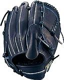 ZETT(ゼット) 軟式野球 ネオステイタス グラブ (グローブ) ピッチャー用 新軟式ボール対応 ナイトブラックB(1900NB) 右投げ用 BRGB31911