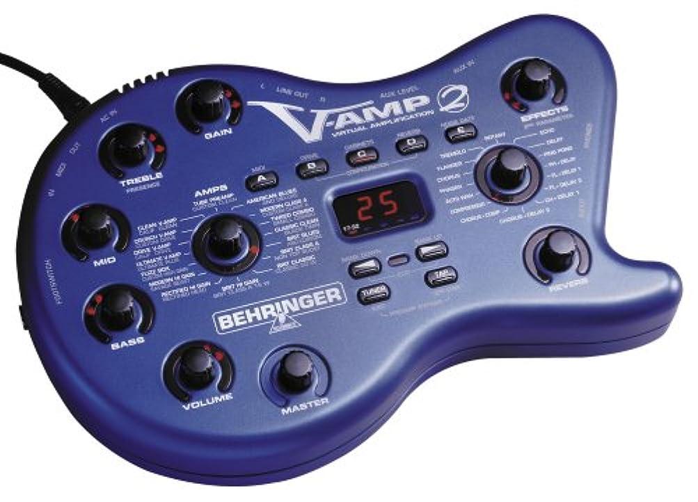 寸法ウィザード風変わりなBEHRINGER V-AMP Ver.2 モデリングアンプ