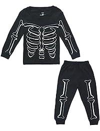 KISBINI 子供服 キッズ服 女の子 男の子 長袖 パジャマ 上下2点セット 部屋着 綿100% ボーイズ ガール tシャツ ロングパンツ 寝巻き