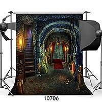 GooEooハロウィン背景10×10FTパーティーカスタマイズ写真、背景の背景、スタジオの支柱10706