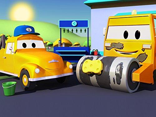トラックのベイジースージーを洗ってあげなきゃ! & スチームローラーのスティーブを洗車しないと!