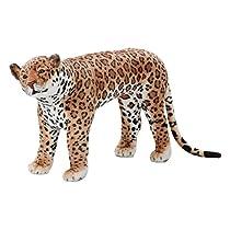 座れるヒョウ 豹 大人が座っても大丈夫!座れる豹のぬいぐるみ 座れるヒョウ(耐荷重80KG)座れる動物 インテリアアニマル