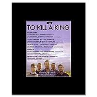 TO KILL A KING - UK Tour 2012 Mini Poster - 13.5x10cm
