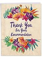 "j6258ttgジャンボ先生Thank You Greeting Card :推奨事項感謝感謝を任意の形状の提案とKind、封筒付き( Giantサイズ: 8.5"" X 11"" )"