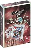 ダイヤモンド トランプ (赤) ポーカーサイズ