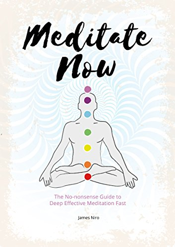 Meditate NOW: The No-nonsense Guide to Deep Effective Meditation Fast (English Edition)