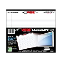 Recycled Landscape Wide Notepad College Ruled