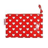 (キャスキッドソン) Cath Kidson ジップパース 財布 Zip Purse コスメポーチ ペンケース レディース 479035 Mini Dot Hearts Red [並行輸入品]