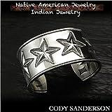 新品 コディ サンダーソン/Cody Sanderson 6スター バングル/ブレスレット シルバー925 (ID na3186r73)