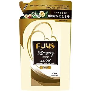 FUNS ラグジュアリー No.92 柔軟剤 つめかえ用 520ml