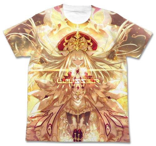 白猫プロジェクト 贖罪の聖女ルウシェ フルグラフィックTシャツ ホワイト Mサイズ