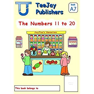 TeeJay Level A Maths: Numbers 11 to 12 Bk.7