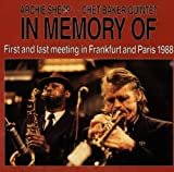 In Memory of: First and Last Meeting in Frankfurt and Paris 1988
