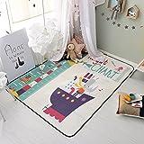 赤ちゃんマットをクロール,夏マット アンチ スリップ 折り畳み式 子供のマット ゲーム マット 畳-E 180x195cm(71x77inch)