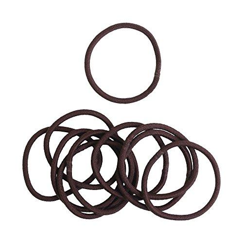 [해외]NBK 헤어 고무 링 고무 두께 10 개입 φ4mm 차 F10-RL-1/NBK hair rubber ring 10 thick rubber foam 4 mm tea F10 - RL - 1