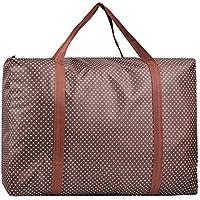 大規模な2PCSオックスフォード布の貯蔵袋高密度の旅行の主催者のキルトの服移動仕上げの荷物の収納袋2つの作品57 * 27 * 39センチメートル (色 : Brown)