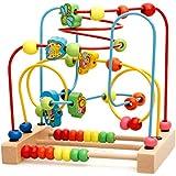 SUGE ビーズコースター ルーピング 木のおもちゃ アクティビティキューブ 知育玩具 木製 子供と遊ぶ 出産祝い ギフト お誕生日 プレゼント