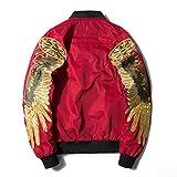 (ホワイトデー) WhiteDAY ミリタリージャケット MA-1 フライトジャケット ワッペン 長袖 ma1 メンズ ワッペン装飾ゆったりジップアップ..