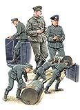 ミニアート 1/35 ドイツ兵 燃料ドラム缶付 特別版 プラモデル MA35256