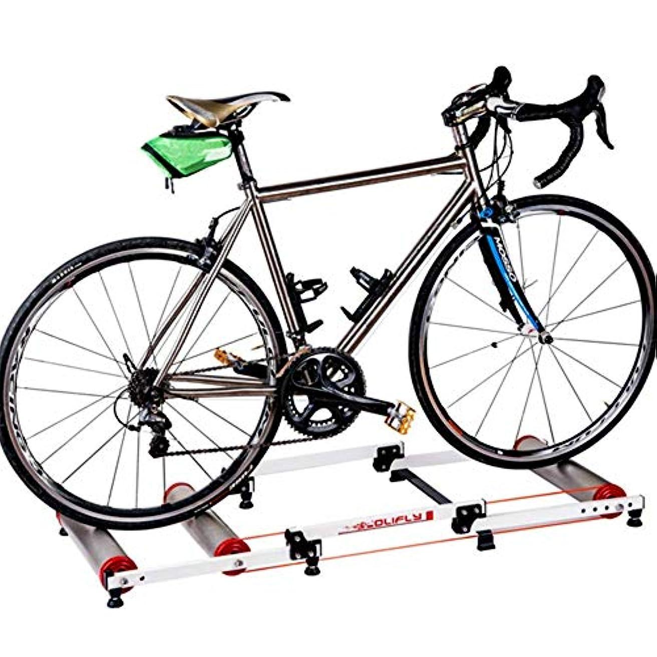 衝突するファンタジー損傷WXQ-XQ アウトドアスポーツ自転車トレーナー、折り畳み式の自転車ホイールマウンテンバイクロードバイクスポーツの駅抵抗スポーツフィットネス屋内トレーニング