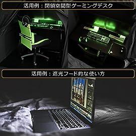BIBILAB (ビビラボ) デスク用テント ぼっちてんと BT1-110-BK