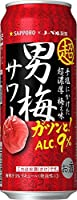 サッポロ 超男梅サワー [ チューハイ 500ml×24本 ]