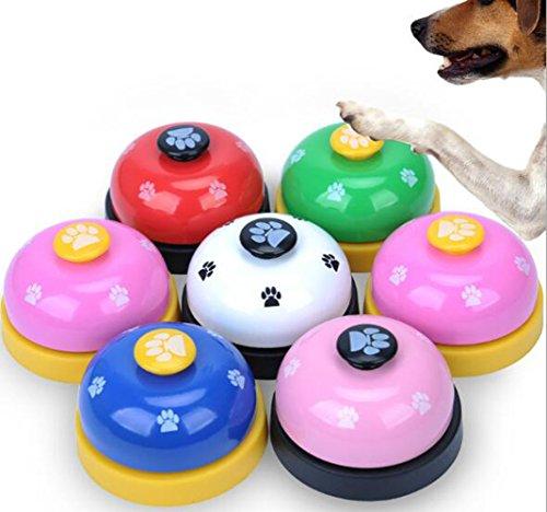 ふく福 ペット犬猫呼び鈴 訓練ベル トレーニングベル カウンターベル しつけ用 訓練用品-1個