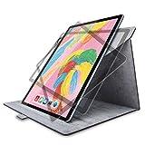 エレコム iPad Pro 12.9インチ (新iPad Pro 2018年モデル) フラップカバー ソフトレザー 360度回転 ブラック TB-A18L360BK