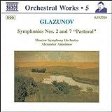 グラズノフ:交響曲第2番, 第7番 画像