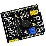 Dovewill 多目的シールドV2 Arduino ベース KeyStudio UNO 学習ボード モジュール
