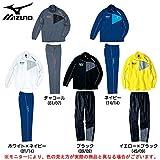 MIZUNO(ミズノ) ウォームアップジャージ 上下セット (32JC4120/32JD4120) (M, ネイビー(14/14))