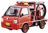 青島文化教材社 1/24 ザ・モデルカーシリーズ No.119 スバル TT2 サンバー 消防車 2011 プラモデル
