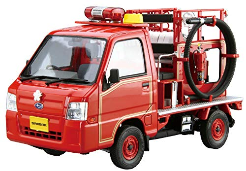 1/24 ザ・モデルカー No.119 スバル TT2 サンバー 消防車 '11