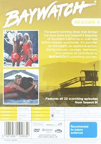 Alerte à Malibu - Serie 9 / Baywatch (Season 9) - 6-DVD Set ( Bay watch - Season Nine ) [ Origine Australien, Sans Langue Francaise ]