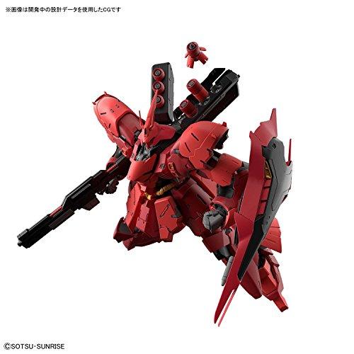 RG 機動戦士ガンダム 逆襲のシャア サザビー 1/144スケール 色分け済みプラモデル