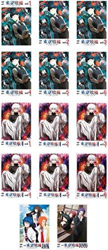 東京喰種 トーキョーグール 全6巻 + √A 全6巻 + OVA JACK、PINTO  全14巻セット [マーケットプレイスDVDセット商品]